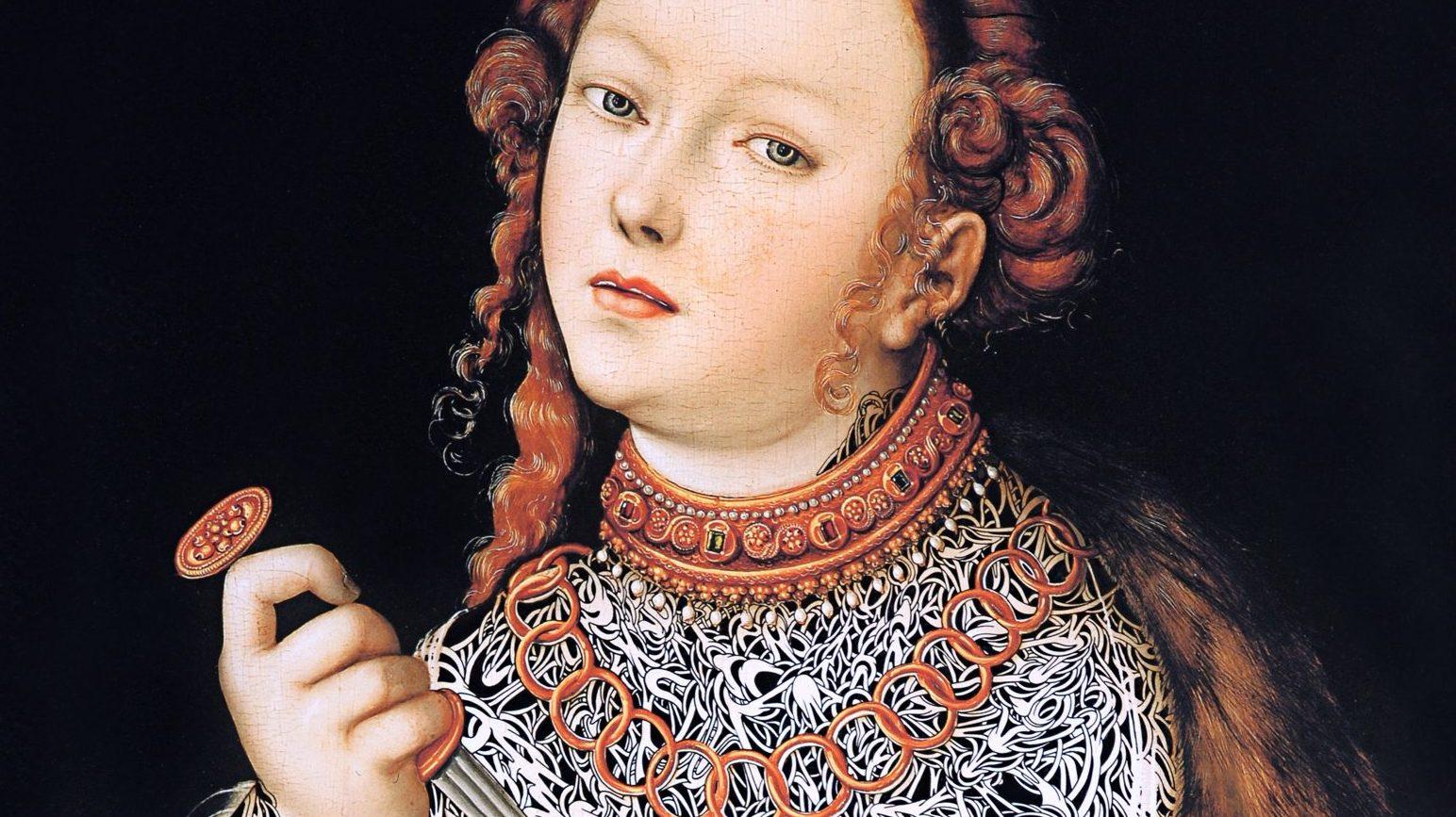 Jean-Luc Moerman Ohne Titel (Le suicide de Lucrèce 1535; Cranach d. Ä.), Detail, 2009 Olbricht Collection © Jean-Luc Moerman
