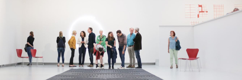 Führung in der Kunsthalle Tübingen. Foto: Wynrich Zlomke