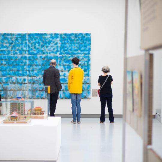 Blick in die Congo-Stars-Ausstellung in der Kunsthalle Tübingen. Foto: Ulrich Metz