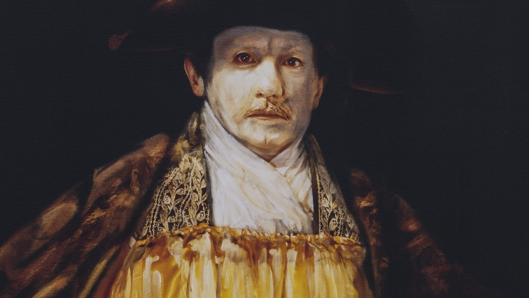 Yasumasa Morimura: Self-Portrait in Yellow 1658, Detail, 1994, LEIHGABE SCHAUWERK SINDELFINGEN