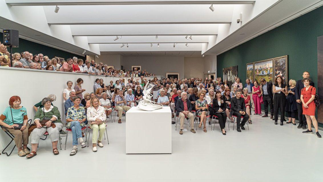 Eröffnung der Ausstellung COMEBACK. KUNSTHISTORISCHE RENAISSANCEN. Foto: Ulrich Metz