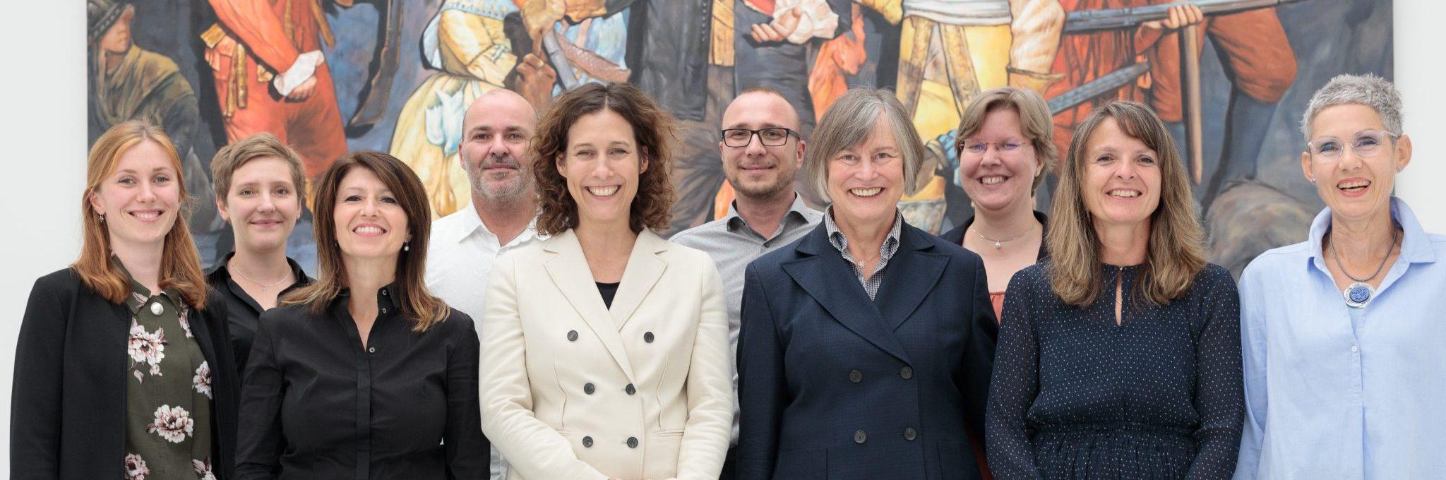 Team der Kunsthalle Tübingen.