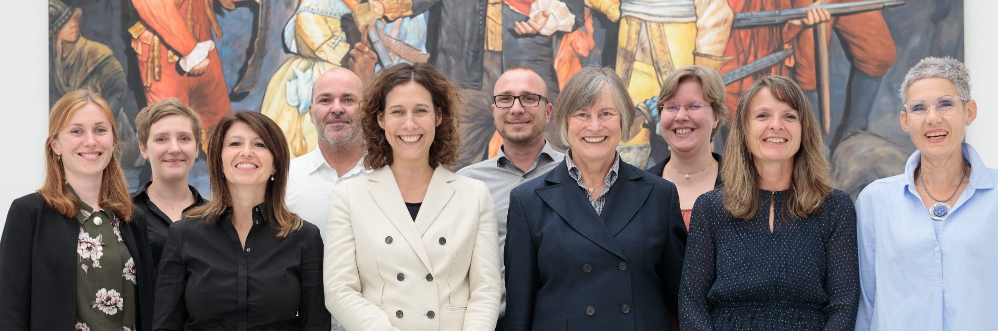 Team der Kunsthalle Tübingen. Foto: Wynrich Zlomke