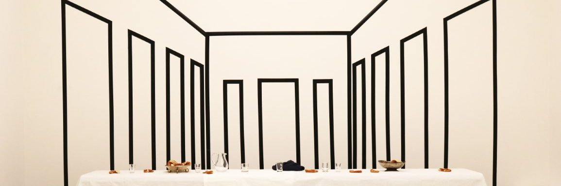 Tableau vivant Stellen in der Kunsthalle Tübingen. Foto: Jürgen Klugmann und Hanna Smitmans
