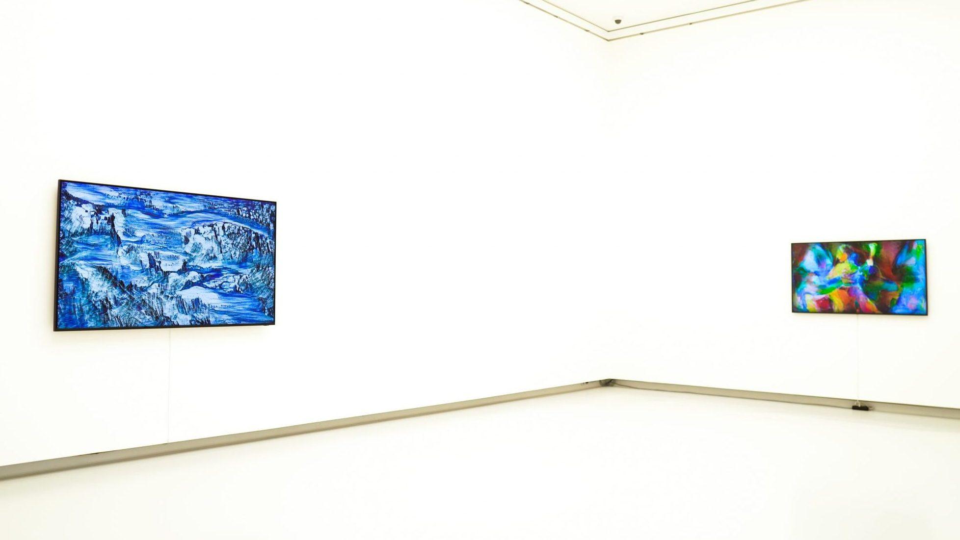 Blick in die Kunsthalle Tübingen auf die Installation von Lunar Ring. Foto: BFG MEDIA GROUP