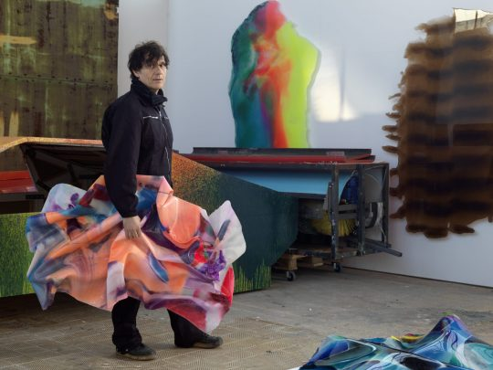 Daniel Knorr Canvas Sculptures Berlin, 2020 Fotograf: Bernd Borchardt © VG Bild-Kunst, Bonn 2020