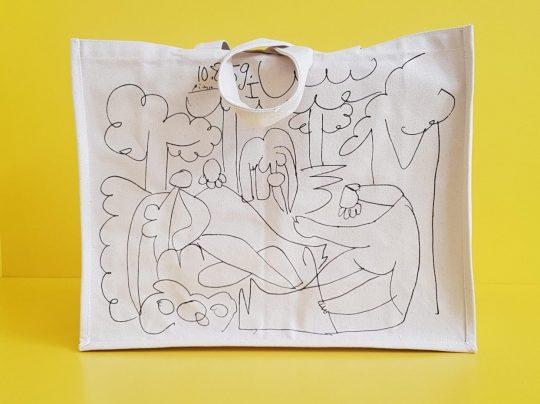 """Pablo Picasso Etude pour """"La suite des déjeuners"""", 10.08.1959 Stiftung Kunsthalle Tübingen © Succession Picasso / VG Bild-Kunst, Bonn 2019"""