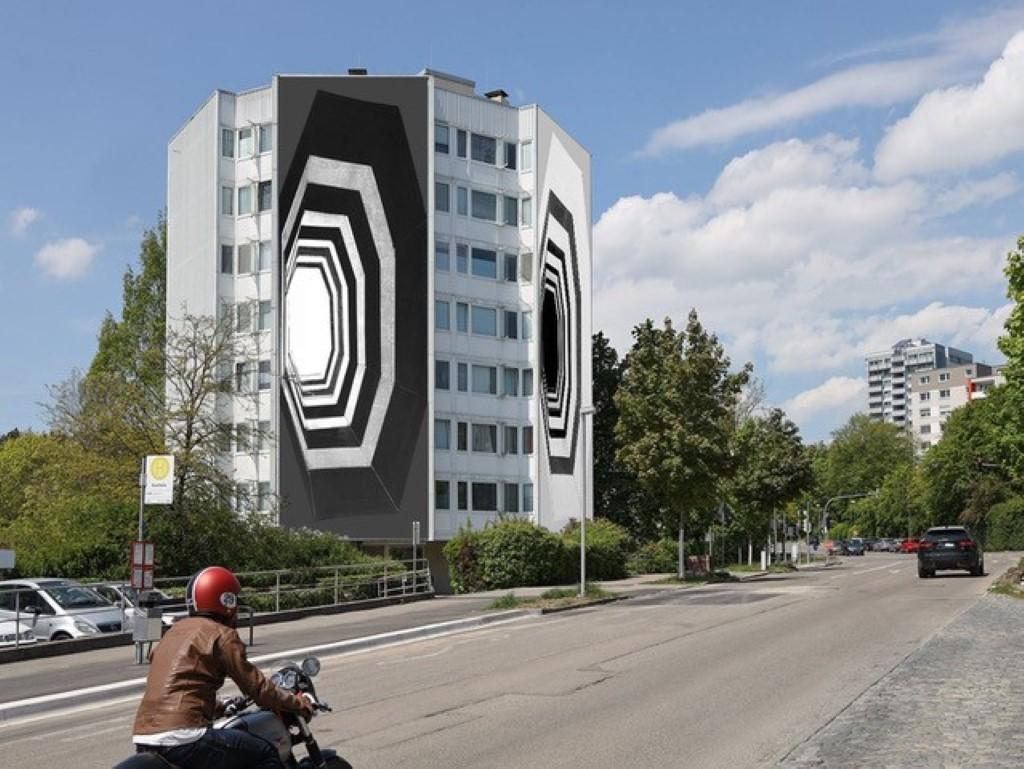 Annett Zinsmeister: Inside_Out 2021  Installation Kunsthalle Tübingen © Annett Zinsmeister, VG Bild-Kunst, Bonn 2021