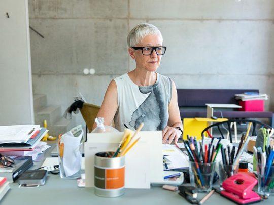 Karin Sander, Foto: Michael Danner (Detail)