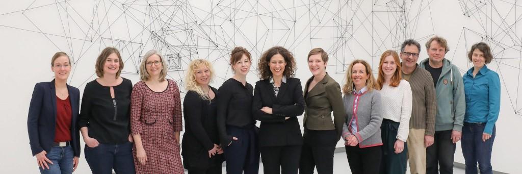 Team Kunsthalle Tübingen. Blick in die SEXY & COOL-Ausstellung der Kunsthalle Tübingen. Für die Werke Heike Webers gilt (c) VG Bild-Kunst, Bonn 2018