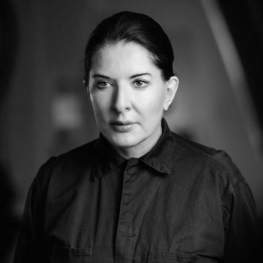 Portrait of Marina Abramović, 2018 Foto (Detail): Carlo Bach